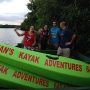 Getting Ready for Kayak Adventure in the Caroni Swamp, Caroni Bird Sanctuary, Tourism
